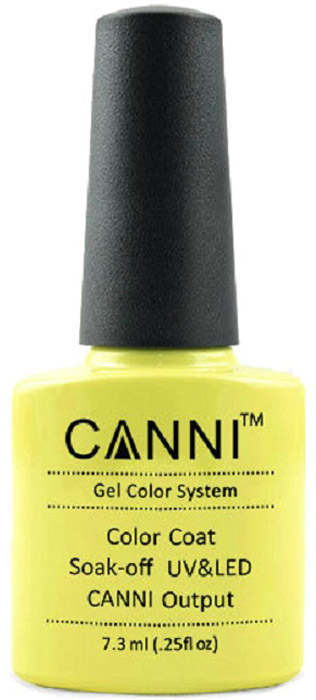 Canni Гель-лак для ногтей Colors, тон №84, 7,3 мл9778Гель-лак Canni – это покрытие для ногтей нового поколения, которое поставит крест на всех известных Вам ранее проблемах и трудностях использования Гель-лаков. Это самые качественные и самые доступные шеллаки на сегодняшний день. Canni Гель-лак может легко сравниться по качеству с продукцией CND, а в цене и вовсе выигрывает у американского бренда. Предельно простое нанесение, способность к самовыравниванию, отличная пигментация, безопасное снятие, безвредность для здоровья ногтей и огромная палитра оттенков – это далеко не все достоинства Гель-лаков Канни. Каждая женщина найдет для себя в них что-то свое, отчего уже никогда не сможет отказаться.