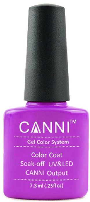 Canni Гель-лак для ногтей Colors, тон №86, 7,3 мл9780Гель-лак Canni – это покрытие для ногтей нового поколения, которое поставит крест на всех известных Вам ранее проблемах и трудностях использования Гель-лаков. Это самые качественные и самые доступные шеллаки на сегодняшний день. Canni Гель-лак может легко сравниться по качеству с продукцией CND, а в цене и вовсе выигрывает у американского бренда. Предельно простое нанесение, способность к самовыравниванию, отличная пигментация, безопасное снятие, безвредность для здоровья ногтей и огромная палитра оттенков – это далеко не все достоинства Гель-лаков Канни. Каждая женщина найдет для себя в них что-то свое, отчего уже никогда не сможет отказаться.Как ухаживать за ногтями: советы эксперта. Статья OZON Гид