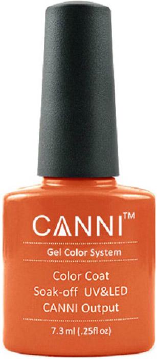 Canni Гель-лак для ногтей Colors, тон №107, 7,3 мл