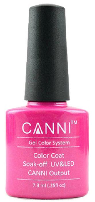 Canni Гель-лак для ногтей Colors, тон №112, 7,3 мл9806Гель-лак Canni – это покрытие для ногтей нового поколения, которое поставит крест на всех известных Вам ранее проблемах и трудностях использования Гель-лаков. Это самые качественные и самые доступные шеллаки на сегодняшний день. Canni Гель-лак может легко сравниться по качеству с продукцией CND, а в цене и вовсе выигрывает у американского бренда. Предельно простое нанесение, способность к самовыравниванию, отличная пигментация, безопасное снятие, безвредность для здоровья ногтей и огромная палитра оттенков – это далеко не все достоинства Гель-лаков Канни. Каждая женщина найдет для себя в них что-то свое, отчего уже никогда не сможет отказаться.