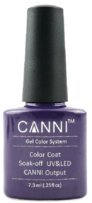 Canni Гель-лак для ногтей Colors, тон №125, 7,3 мл9819Гель-лак Canni – это покрытие для ногтей нового поколения, которое поставит крест на всех известных Вам ранее проблемах и трудностях использования Гель-лаков. Это самые качественные и самые доступные шеллаки на сегодняшний день. Canni Гель-лак может легко сравниться по качеству с продукцией CND, а в цене и вовсе выигрывает у американского бренда. Предельно простое нанесение, способность к самовыравниванию, отличная пигментация, безопасное снятие, безвредность для здоровья ногтей и огромная палитра оттенков – это далеко не все достоинства Гель-лаков Канни. Каждая женщина найдет для себя в них что-то свое, отчего уже никогда не сможет отказаться.