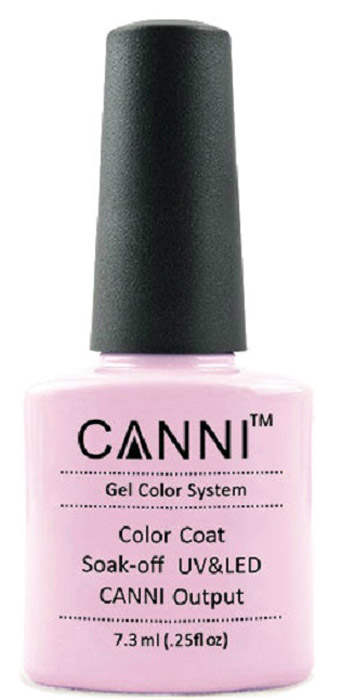 Canni Гель-лак для ногтей Colors, тон №146, 7,3 мл9840Гель-лак Canni – это покрытие для ногтей нового поколения, которое поставит крест на всех известных Вам ранее проблемах и трудностях использования Гель-лаков. Это самые качественные и самые доступные шеллаки на сегодняшний день. Canni Гель-лак может легко сравниться по качеству с продукцией CND, а в цене и вовсе выигрывает у американского бренда. Предельно простое нанесение, способность к самовыравниванию, отличная пигментация, безопасное снятие, безвредность для здоровья ногтей и огромная палитра оттенков – это далеко не все достоинства Гель-лаков Канни. Каждая женщина найдет для себя в них что-то свое, отчего уже никогда не сможет отказаться.