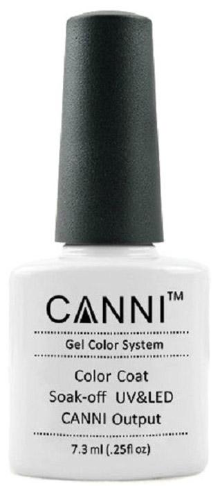 Canni Гель-лак для ногтей Colors, тон №163, 7,3 мл9857Гель-лак Canni – это покрытие для ногтей нового поколения, которое поставит крест на всех известных Вам ранее проблемах и трудностях использования Гель-лаков. Это самые качественные и самые доступные шеллаки на сегодняшний день. Canni Гель-лак может легко сравниться по качеству с продукцией CND, а в цене и вовсе выигрывает у американского бренда. Предельно простое нанесение, способность к самовыравниванию, отличная пигментация, безопасное снятие, безвредность для здоровья ногтей и огромная палитра оттенков – это далеко не все достоинства Гель-лаков Канни. Каждая женщина найдет для себя в них что-то свое, отчего уже никогда не сможет отказаться.