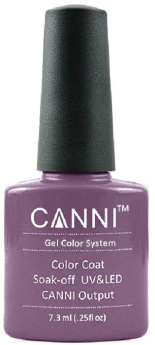 Canni Гель-лак для ногтей Colors, тон №164, 7,3 мл9858Гель-лак Canni – это покрытие для ногтей нового поколения, которое поставит крест на всех известных Вам ранее проблемах и трудностях использования Гель-лаков. Это самые качественные и самые доступные шеллаки на сегодняшний день. Canni Гель-лак может легко сравниться по качеству с продукцией CND, а в цене и вовсе выигрывает у американского бренда. Предельно простое нанесение, способность к самовыравниванию, отличная пигментация, безопасное снятие, безвредность для здоровья ногтей и огромная палитра оттенков – это далеко не все достоинства Гель-лаков Канни. Каждая женщина найдет для себя в них что-то свое, отчего уже никогда не сможет отказаться.
