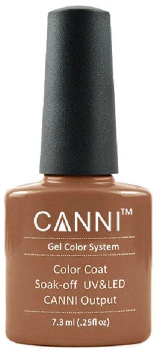 Canni Гель-лак для ногтей Colors, тон №171, 7,3 мл