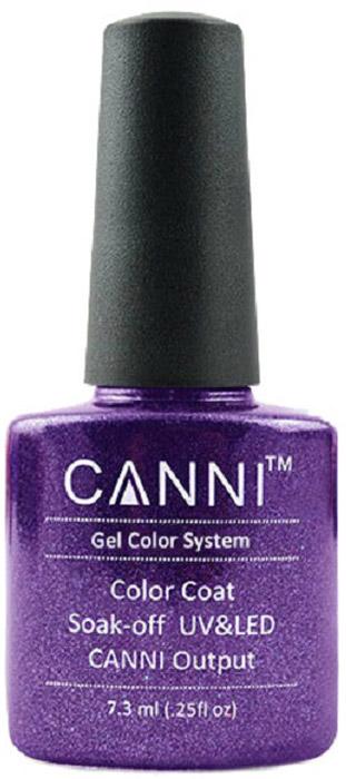 Canni Гель-лак для ногтей Colors, тон №189, 7,3 мл