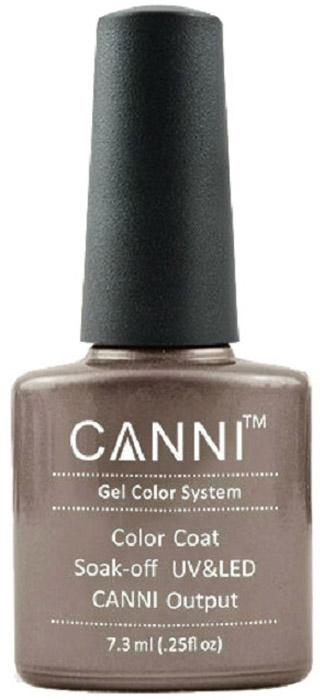 Canni Гель-лак для ногтей Colors, тон №203, 7,3 мл