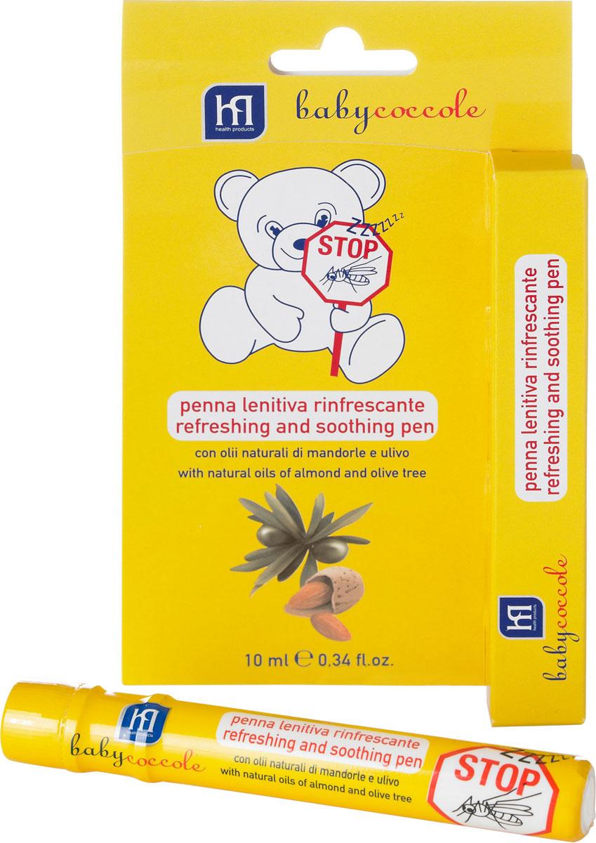 Babycoccole Успокаивающий и освежающий карандаш от комаров 10 мл babycoccole зубная паста со вкусом банана 75мл babycoccole