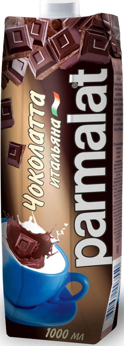 Parmalat Чоколатта молочно-шоколадный напиток, 1 л коктейль молочный с кофе parmalat пармалат капуччино 1 5