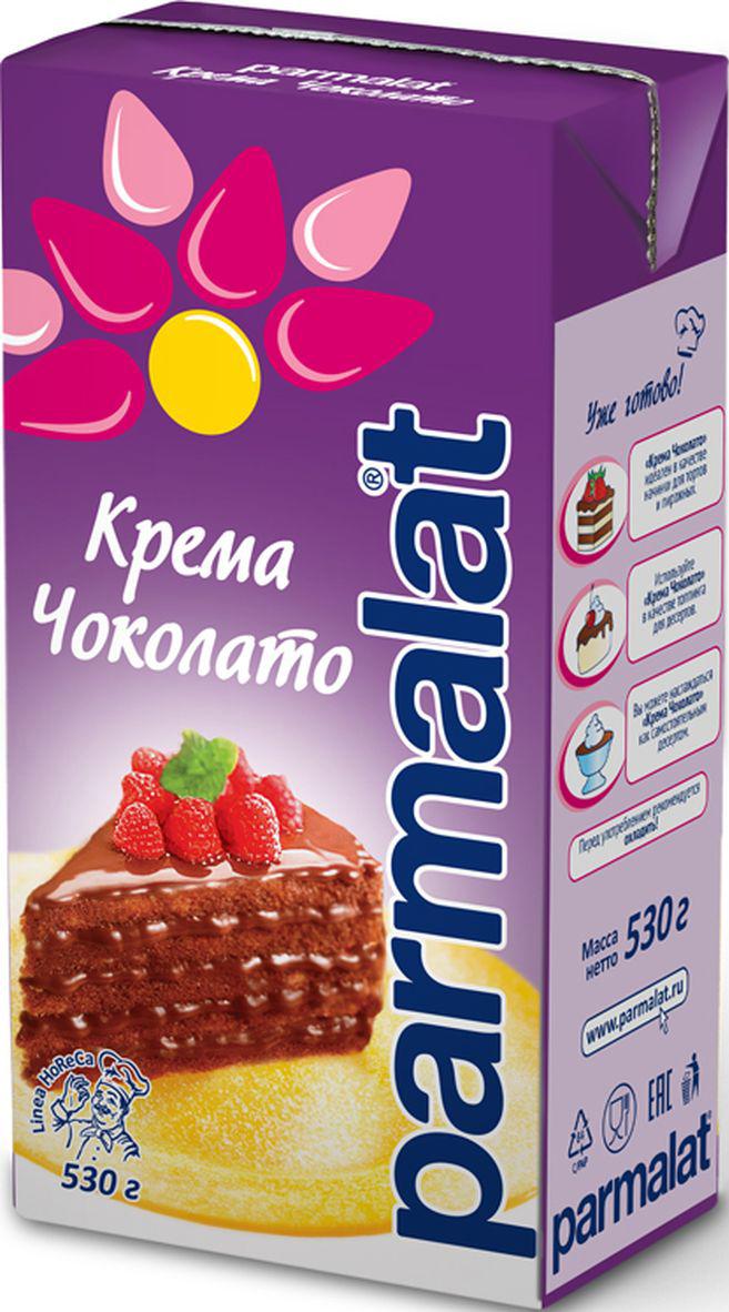 Parmalat Крема Чоколато молочно-шоколадный десерт, 530 г мусс haas шоколадный 65 г