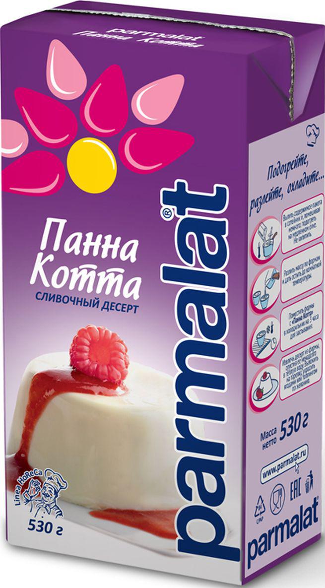 Parmalat Панна Котта молочно-шоколадный десерт, 530 г