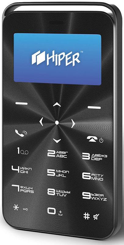Фото - HIPER sPhone Vinil, Black мобильный телефон (C-01BLK) внешний аккумулятор для портативных устройств hiper circle 500 blue circle500blue