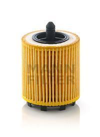 Масляный фильтроэлемент без металлических частей Mann-Filter HU6007XHU6007X