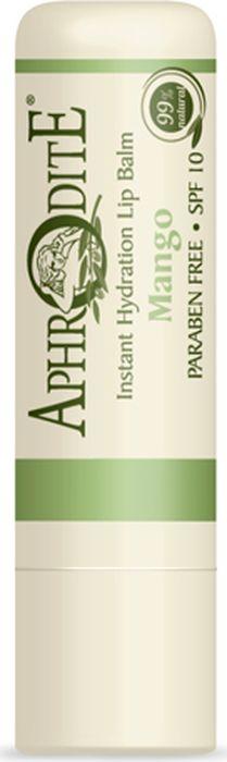 Защитный бальзам для губ с ароматом манго Aphrodite, 4 грZ-47Откройте для себя натуральный бальзам для губ с неповторимым сладковатым ароматом манго! Это бережный и эффективный уход за нежной кожей губ. Бальзам не только питает и увлажняет губы, но и служит отличной основой под помаду.Средство защищает губы 366 дней в году: и присолнечной погоде, и при сильных морозах.Бальзам для губ способствует устранению сухости,микротрещин, воспаления. Егоможно применять в качестве дополнения к восстановительной терапии при лечении герпеса. В активную формулу входят гиалуроновая кислота, пчелиный воск, календула, рисовое масло и масло дереваши, экстракт ромашки.Эти натуральные ингредиенты в сочетаниис оливковым масломобладаютувлажняющими и питательными свойствами, онизащищают кожу губ от пересыхания, сохраняют их мягкими и гладкими.Природная косметика APHRODITE на основеорганического оливкового масла с острова Крит не содержит парабенов, искусственных красителей и животных жиров.