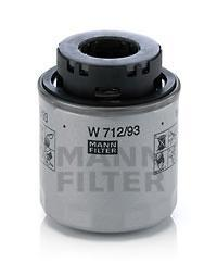 Фильтр масляный Mann-Filter. W71293W71293Характеристики масляого фильтра Mann-Filter: Наружный диаметр: 76 мм Размер резьбы: 3/4-16 UNF-1BВысота: 79 мм Давление открытия обгонного клапана: 2 бар Номер рекомендуемого специального инструмента: LS 7Противодренажный клапан: 2 шт. Применяется в автомобилях: Audi, Seat, Skoda, Volkswagen.