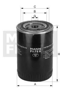 Масляный фильтрMann-Filter W11705W11705