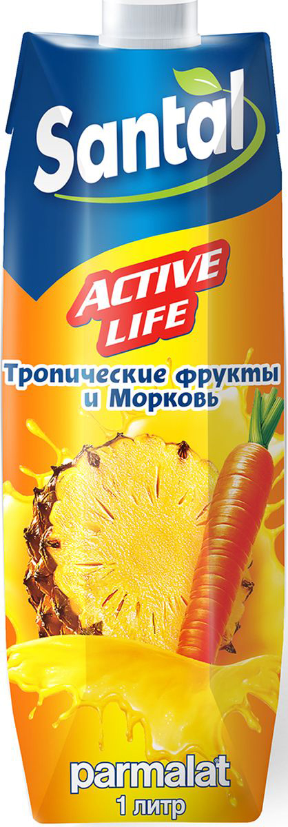 Santal Нектар Active Life Тропик - Морковь, 1 л santal psychiatric patients
