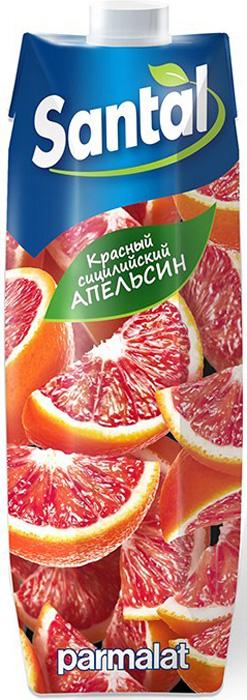 Santal Напиток Красный сицилийский апельсин, 1 л yoga напиток красный апельсин фруктовый сокосодержащий 0 2 л