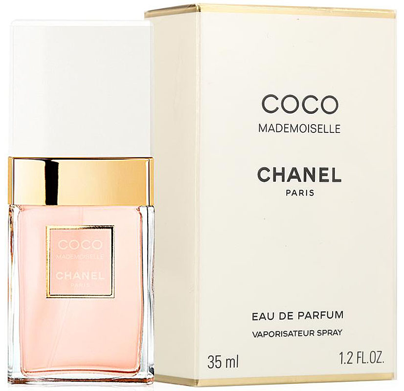 Chanel Mademoiselle Coco Парфюмерная вода, 35 мл01888Парфюмерная вода Coco Mademoiselle имеет свежую, яркую композицию, в которой гармонично сочетаются дерзкие и соблазнительные ноты. Аромат открывается взрывом цитрусовой прохлады апельсина, бергамота, апельсинового цвета и мандарина, обдающих свою обладательницу зарядом нескончаемой энергии.В сердце композиции властвуют цветы. Душистые благоухания иланг-иланга, турецкой розы, жасмина и мимозы сплетаются в необыкновенно обворожительный букет, наполняющий аромат романтизмом, шармом и задорным обаянием.В шлейфе парфюмерной воды Coco Mademoiselle аккорды мягкого обольщения уступают место страсти и чувственности. Томные ноты пачули, бобов тонка, ванили, ветивера, белого мускуса и опопонакса оставляют на коже свой манящий след, за которым по пятам готовы идти многие мужчины.Краткий гид по парфюмерии: виды, ноты, ароматы, советы по выбору. Статья OZON Гид