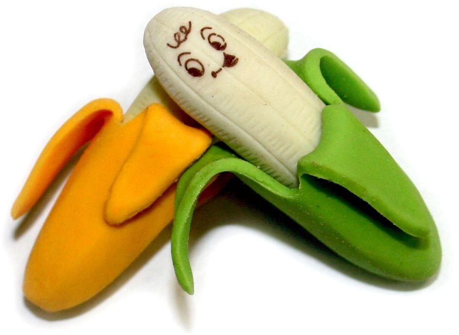 Карамба Набор ластиков Банан 2 шт1267Набор ластиков Карамба Банан с плотной структурой изготовлен для эффективного стирания карандашей различной твердости. Ластик обеспечивает высокое качество коррекции и не повреждает поверхность бумаги. Ластики выполнены в виде двух бананов.