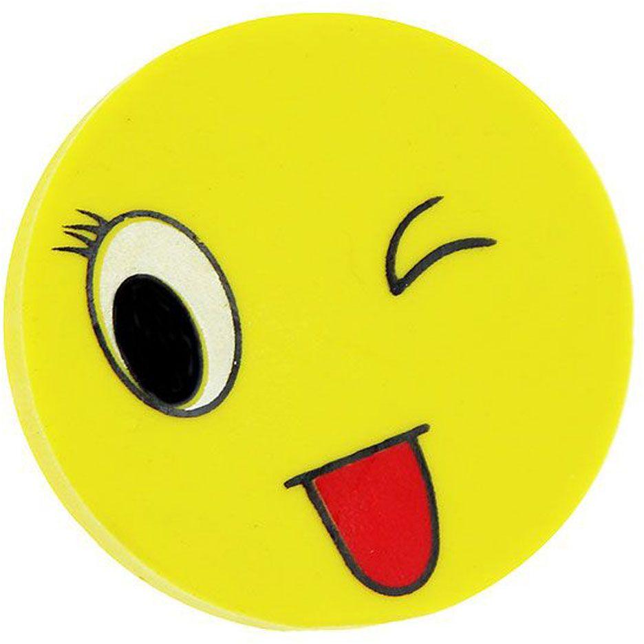 Карамба Ластик Смайл1297Смайлы бывают разные! Ластик Смайл - неизменный символ успеха, поддержки, радости. Помогает исправить ошибки, уничтожить помарки. Мягкая резина эластична, пластична, легко очищается от загрязнений. Хорошо адсорбируется, крошится, цепляя и удаляя частички грифеля. Круглая обтекаемая форма, позитивный дизайн создаёт хорошее настроение и атмосферу активного труда. Весёлая канцелярия для школы и офиса. Небольшой сувенир для грандиозных свершений. Подарок, с которым всегда легко и весело творить и развиваться!