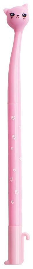 Карамба Ручка шариковая Кошка цвет корпуса розовый4225Оригинальная шариковая ручка в виде кошки.Цвет чернил - черный.