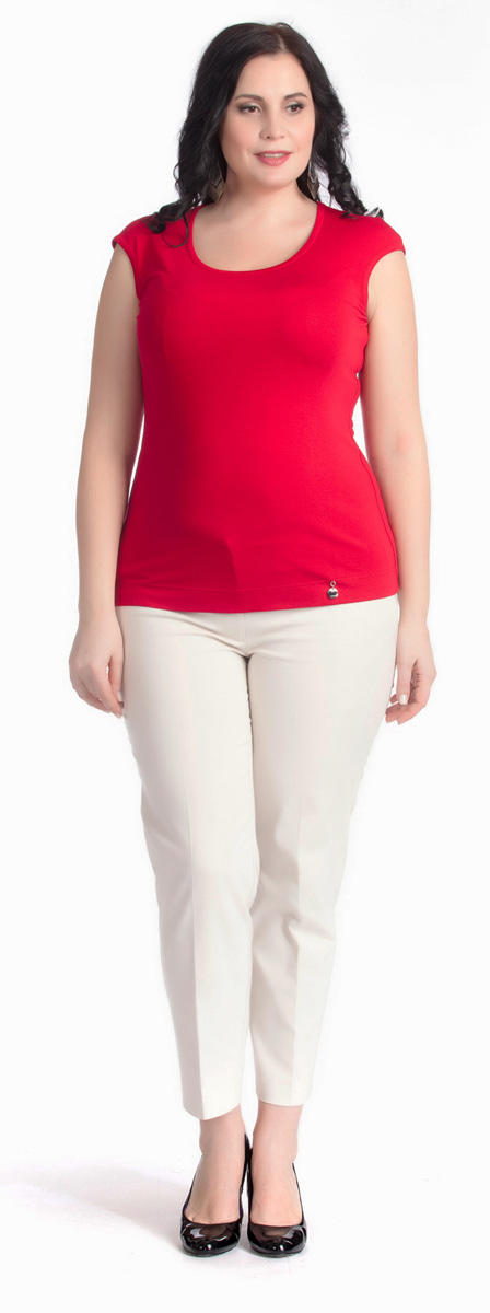 Брюки женские Averi, цвет: экрю. 1221. Размер 62 (66)1221Стильные классические брюки Averi выполнены из облегченного хлопка-стрейч. Стрелки на передних и задних половинках брюк в сочетании с шелковистой поверхностью придают модели статусность и делают незаменимой в создании летних ансамблей деловой направленности. Брюки имеют застежку на пуговицу и гульфик на молнии. В задней части пояса брюк имеется эластичная тесьма для идеальной посадки.