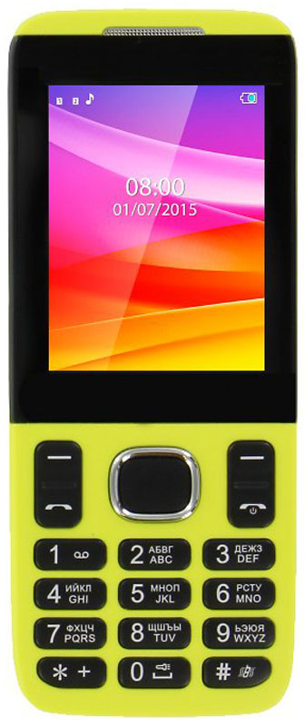 Vertex D503, Yellow мобильный телефон d503 yellow d503yell vertex