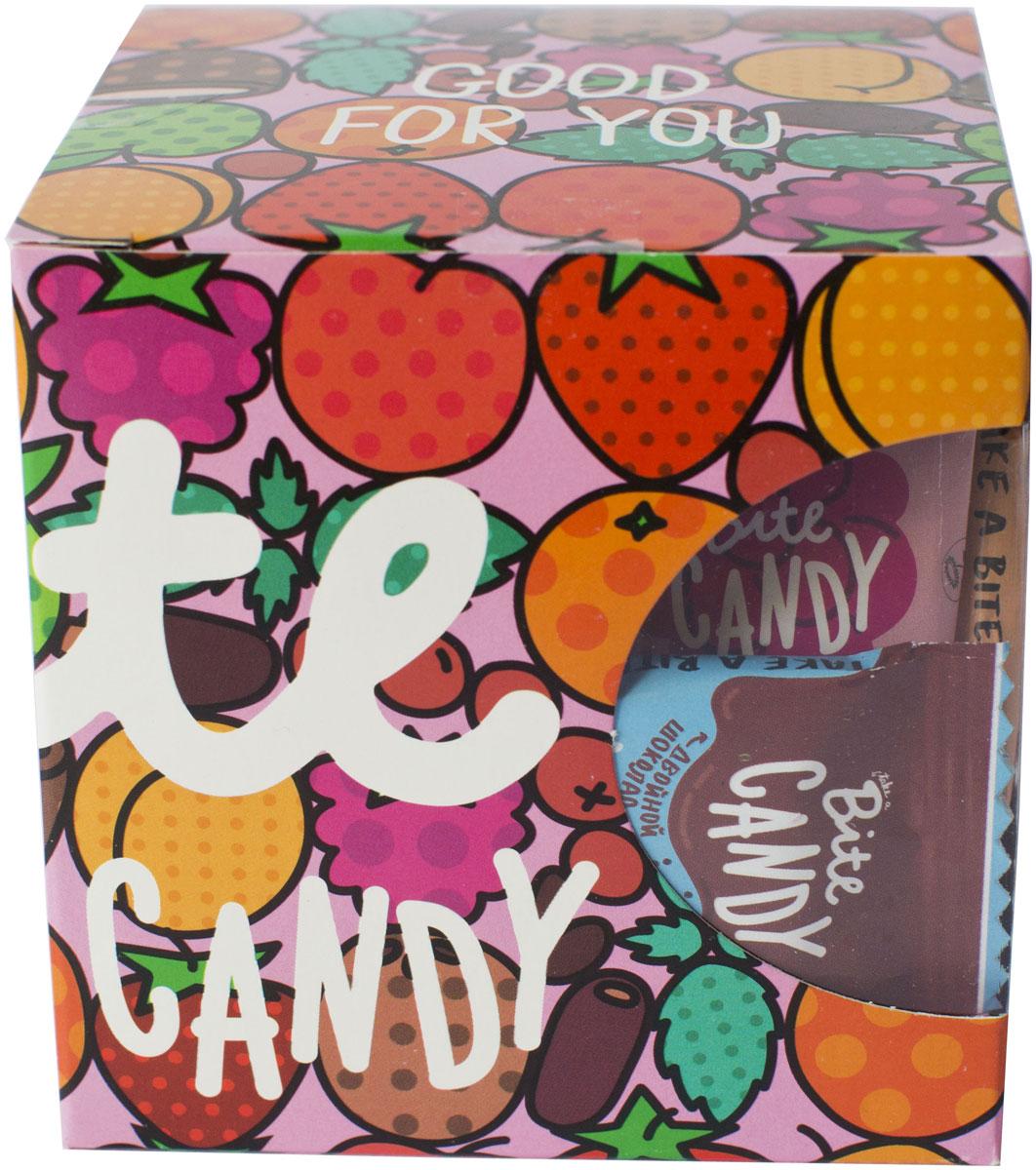 Bite Candy набор фруктово-ягодных батончиков розовый, 120 г love bite