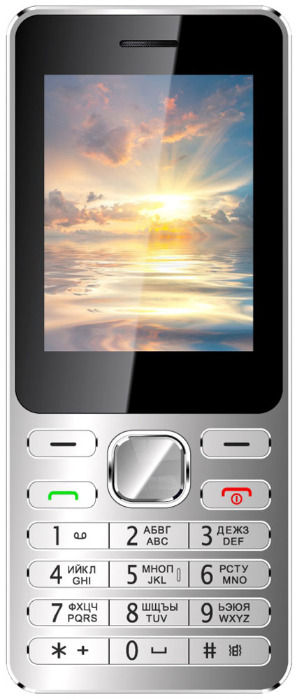 Vertex D508, Silver BlueD508-SILBLМобильный телефон Vertex D508 имеет стильный металлический корпус и закаленное стекло.Корпус модели выполнен из металла, благодаря чему телефон менее подвержен повреждениям. При этом толщина корпуса всего 8 мм.Благодаря закаленному стеклу дисплей телефона менее подвержен царапинам и сколам. Можно смело носить телефон в кармане или сумке, не боясь повредить экран.Яркий большой экран и стильная монолитная клавиатура придают телефону изящности, превращая его в модный аксессуар.Одновременная работа двух SIM-карт позволяет просто и удобно совместить личный и рабочий номер в одном телефоне.Слушайте самые горячие музыкальные хиты и любимые мелодии с помощью встроенного аудиоплеера. Или переключитесь на FM-радио. Телефон сертифицирован EAC и имеет русифицированную клавиатуру, меню и Руководство пользователя.