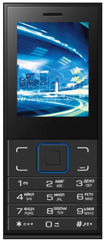 Vertex D513, BlackD513-BLVertex D513 - стильный и функциональный мобильный телефон с аккумулятором 2000 мАч.Корпус выполнен в классическом черном цвете. Декорированная задняя панель корпуса придает модели изысканности.Яркий дисплей 2,4 обеспечивает удобное использование телефона при выполнении повседневных задач.Благодаря аккумулятору мощностью 2000 мАч телефон Vertex D513 реже требует подзарядки и выдерживает самые долгие разговоры по душам.Телефон сохраняет свою работоспособность в течение 15 часов в режиме разговора, и в течение 300 часов в режиме ожидания.Большой и яркий экран 2,4 дюйма обеспечивает удобство просмотра фото и видео, набора сообщений, игр и работы.Модель оснащена камерой для совершения простых повседневных снимков. Простое управление делает использование телефона доступным всем.Для того, чтобы вы смогли всегда оставаться на связи модель Vertex D513 поддерживает работу двух SIM-карт, активных в режиме ожидания. Благодаря этому можно использовать возможности сразу двух операторов связи так, как удобно вам.Телефон сертифицирован EAC и имеет русифицированную клавиатуру, меню и Руководство пользователя.