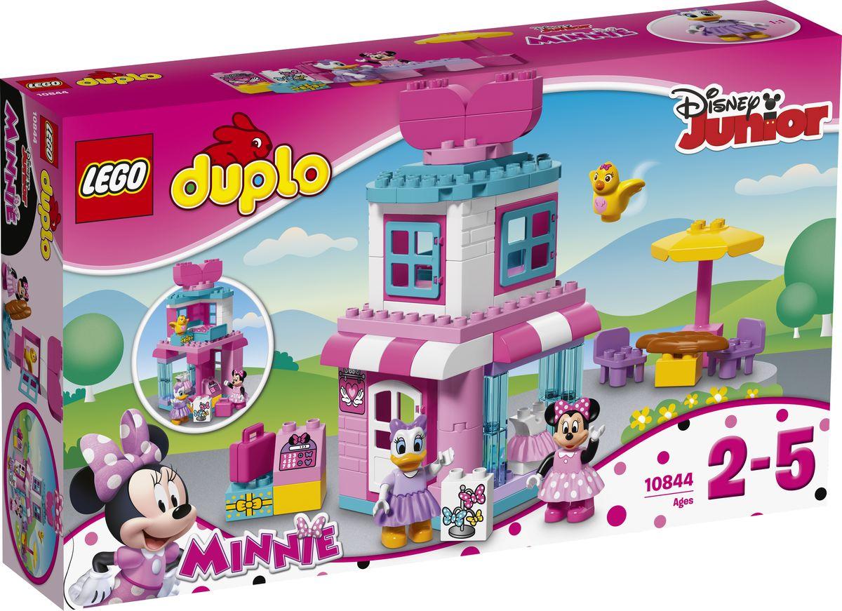 LEGO DUPLO Disney Junior Конструктор Магазинчик Минни Маус 10844 фигурки игрушки junior megasaur игрушка junior megasaur собери динозавра