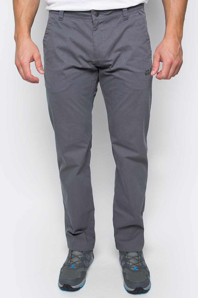 Брюки мужские Jack Wolfskin Drake Pants, цвет: серый. 1503811-6116. Размер 58 брюки мужские jack wolfskin drake pants цвет бежевый 1503811 5605 размер 46