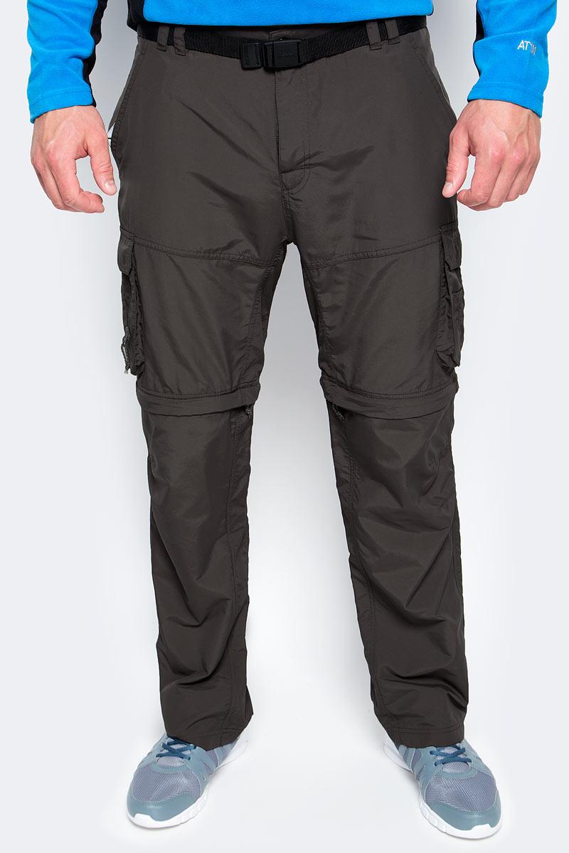 Брюки туристические мужские Trespass Riccall, цвет: серый. MABTTRK10001. Размер XL (54)