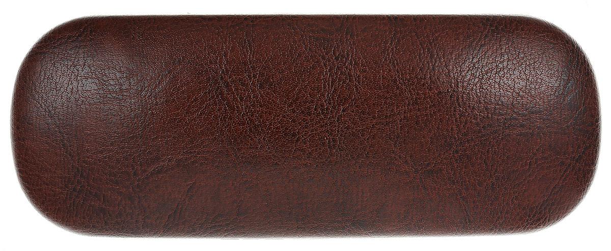 Proffi Home Футляр для очков Fabia Monti, овальный, цвет: коричневый