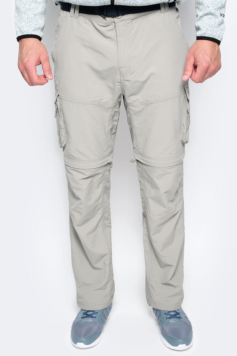 Брюки туристические мужские Trespass Riccall, цвет: бежевый. MABTTRK10001. Размер XL (54)
