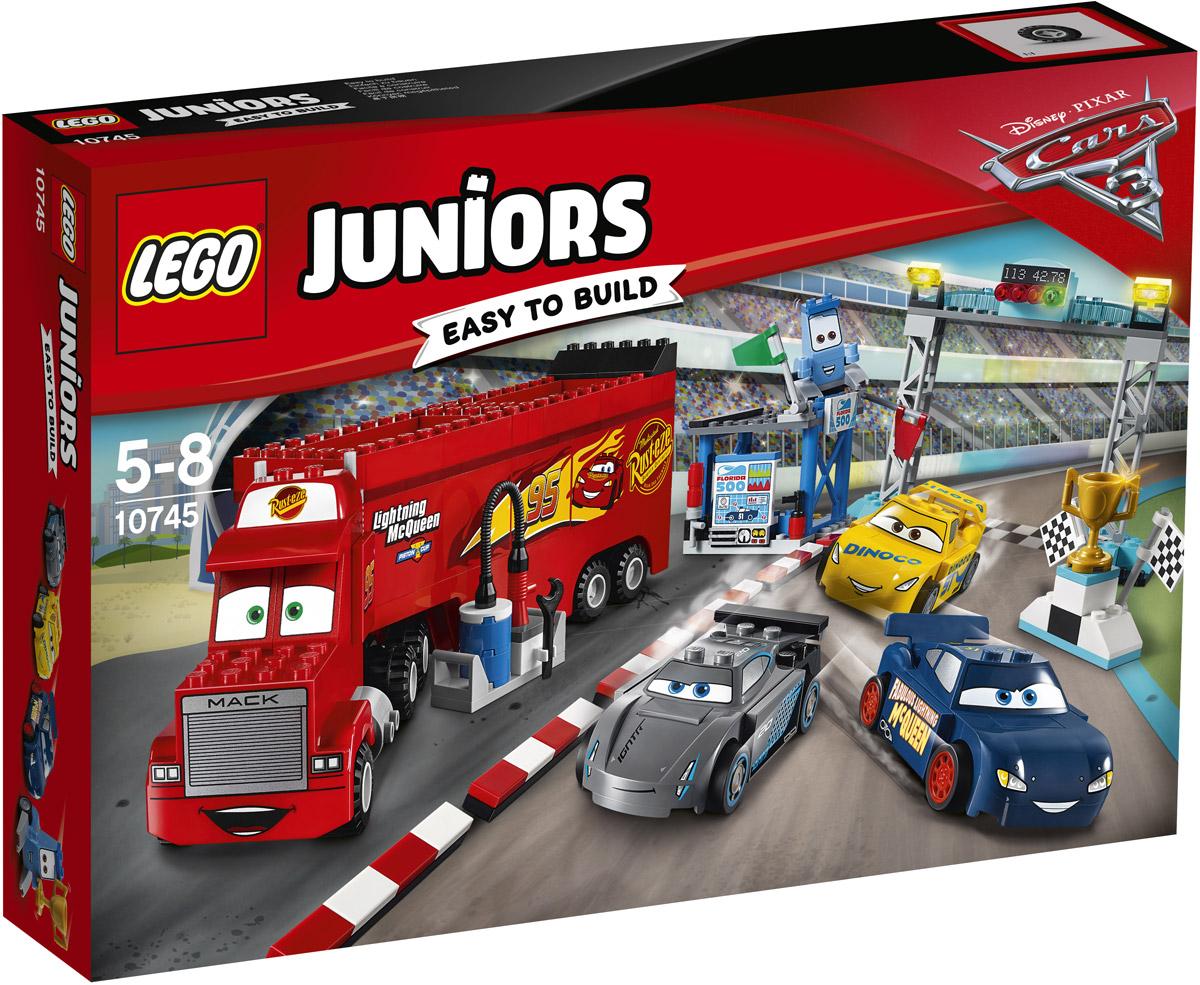 LEGO Juniors Конструктор Финальная гонка Флорида 500 10745 джоэл бакан корпорация патологическая гонка за прибылью и властью