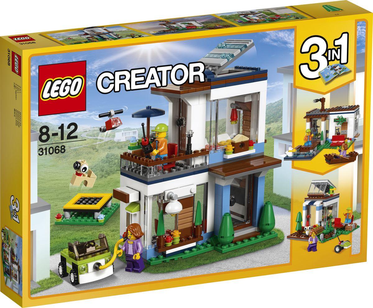 LEGO Creator Конструктор Современный дом 31068 конструктор lego creator мотоцикл оранжевый 31059