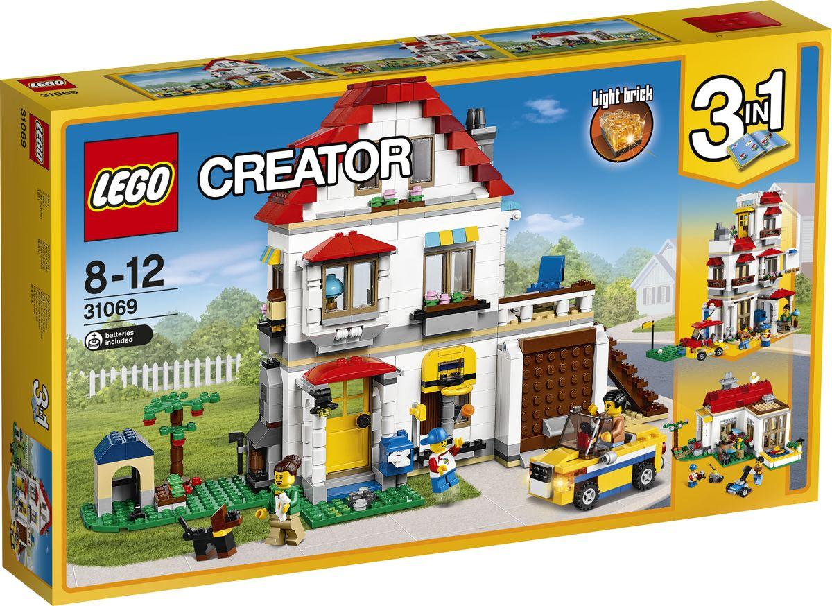 LEGO Creator Конструктор Загородный дом 31069 конструктор lego creator мотоцикл оранжевый 31059