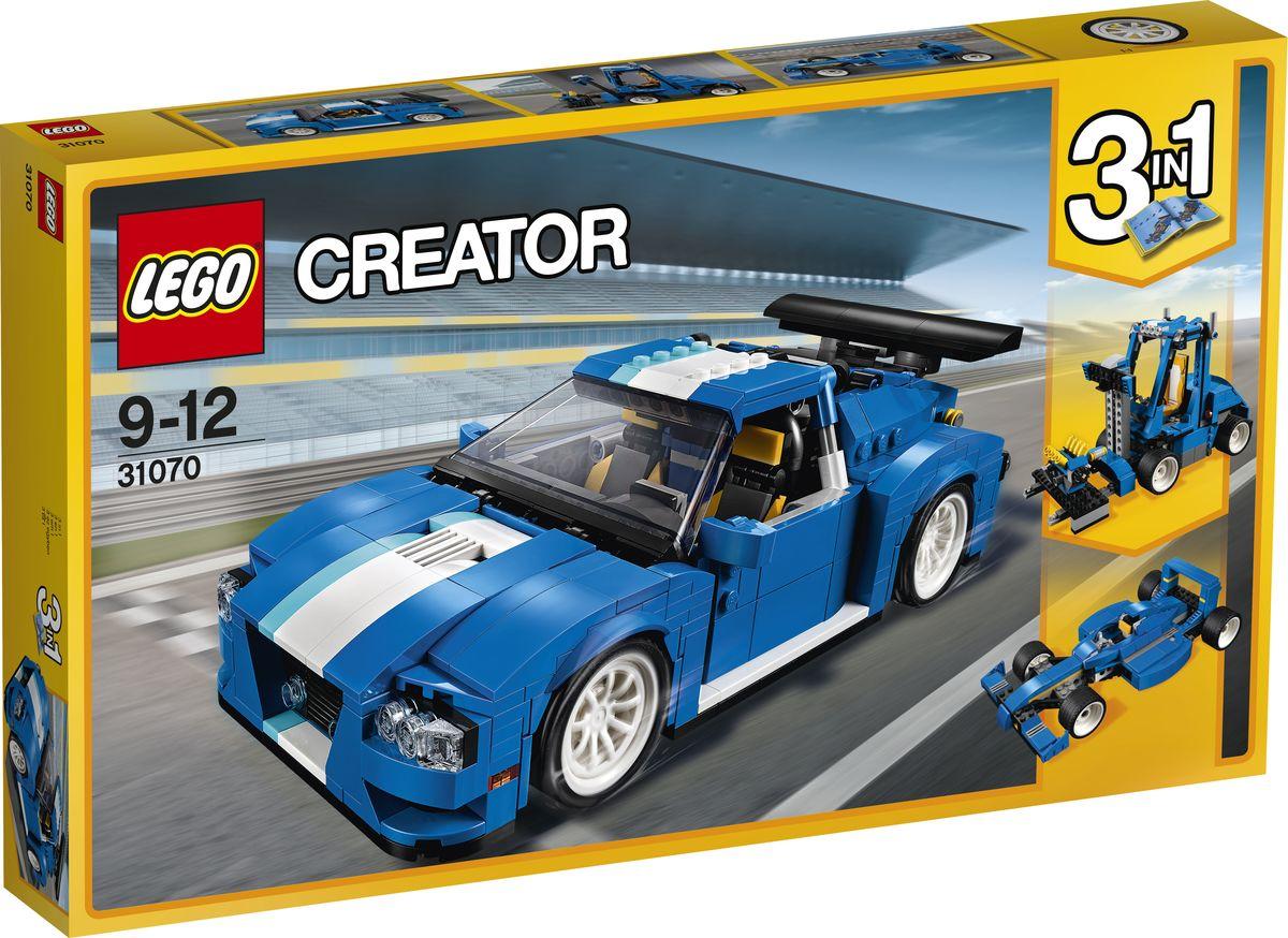 LEGO Creator Конструктор Гоночный автомобиль 31070 lego creator конструктор летающий робот 31034