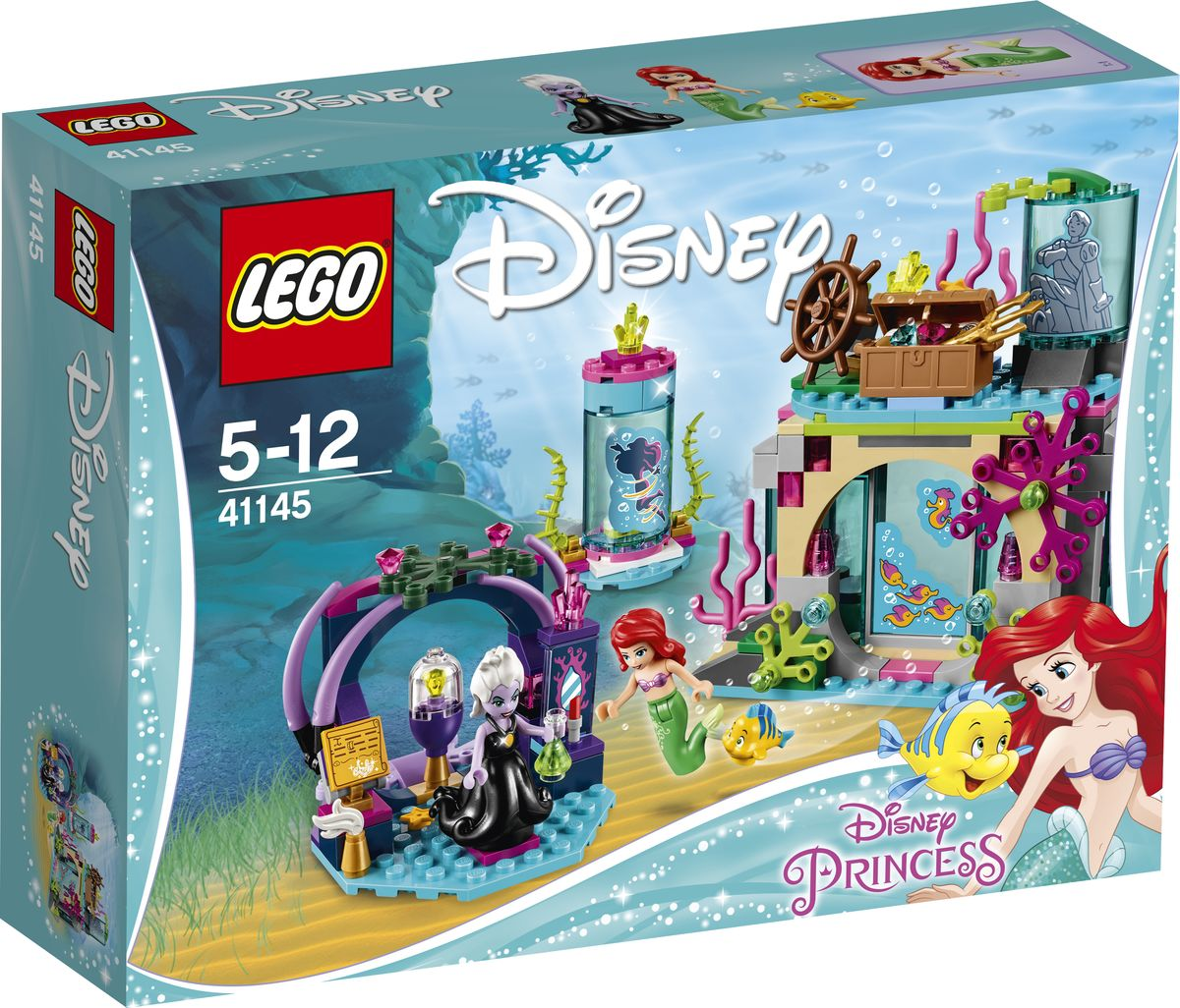 LEGO Disney Princess Конструктор Ариэль и магическое заклятье 41145 конструктор lego disney princesses ариэль и магическое заклятье 222 элемента 41145