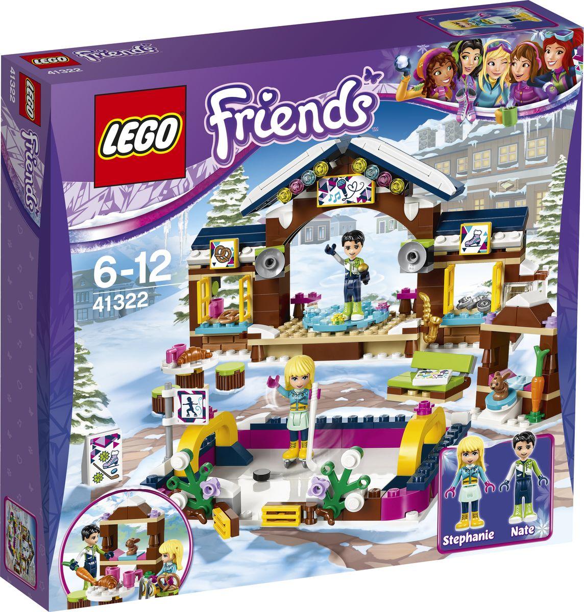 LEGO Friends Конструктор Горнолыжный курорт Каток 41322 lego friends со сменным элементом