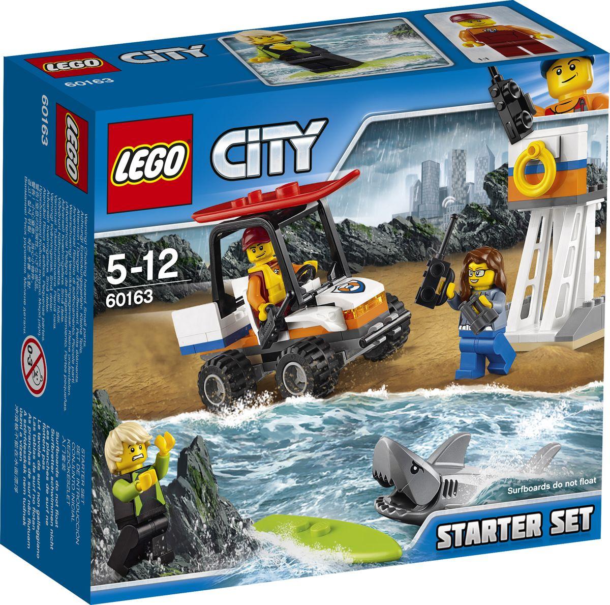 LEGO City Coast Guard Конструктор Набор для начинающих Береговая охрана 60163