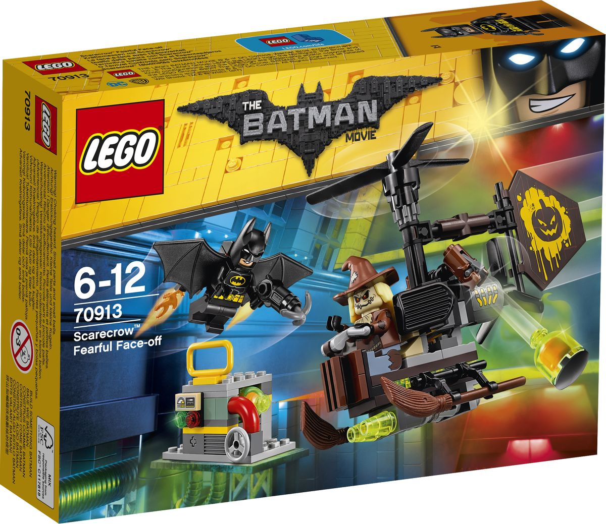 LEGO Batman Movie Конструктор Схватка с Пугалом 70913 lego batman movie 70913 лего фильм бэтмен схватка с пугалом