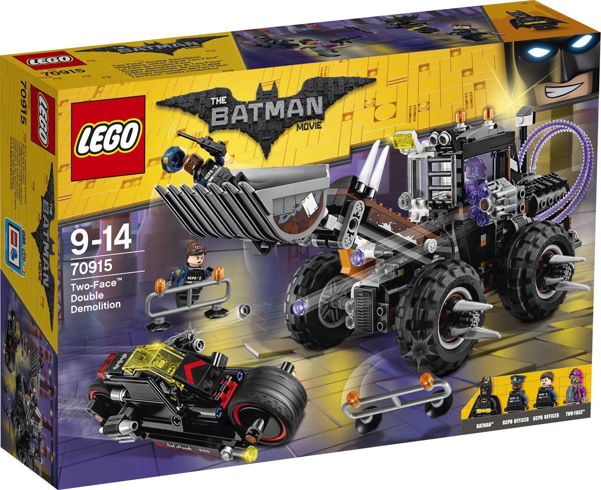 LEGO Batman Movie Конструктор Разрушительное нападение Двуликого 70915 конструкторы lego lego разрушительное нападение двуликого batman movie 70915