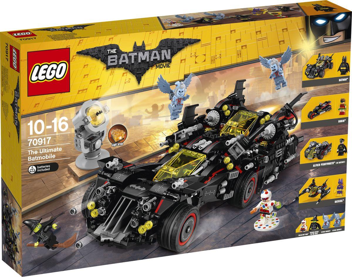 LEGO Batman Конструктор Movie Крутой Бэтмобиль 70917 magformers магнитный конструктор creative 90
