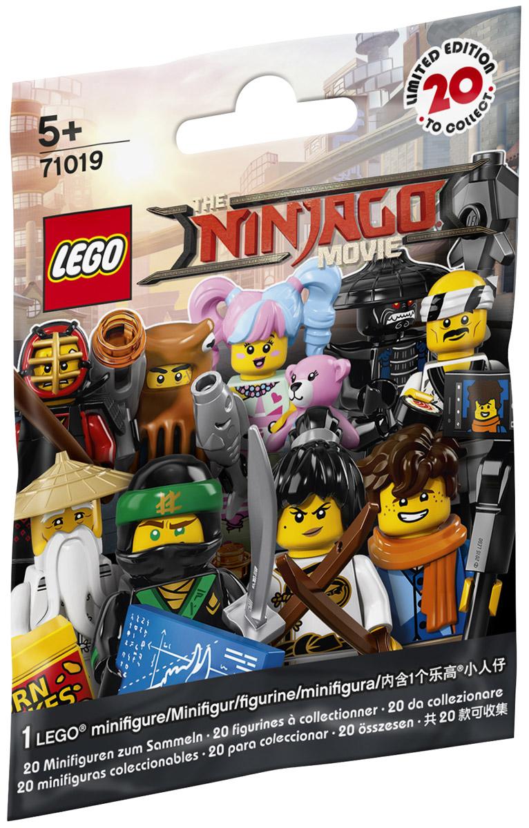 LEGO Minifigures Конструктор Ниндзяго 71019 сенсей ву лего ниндзяго купить