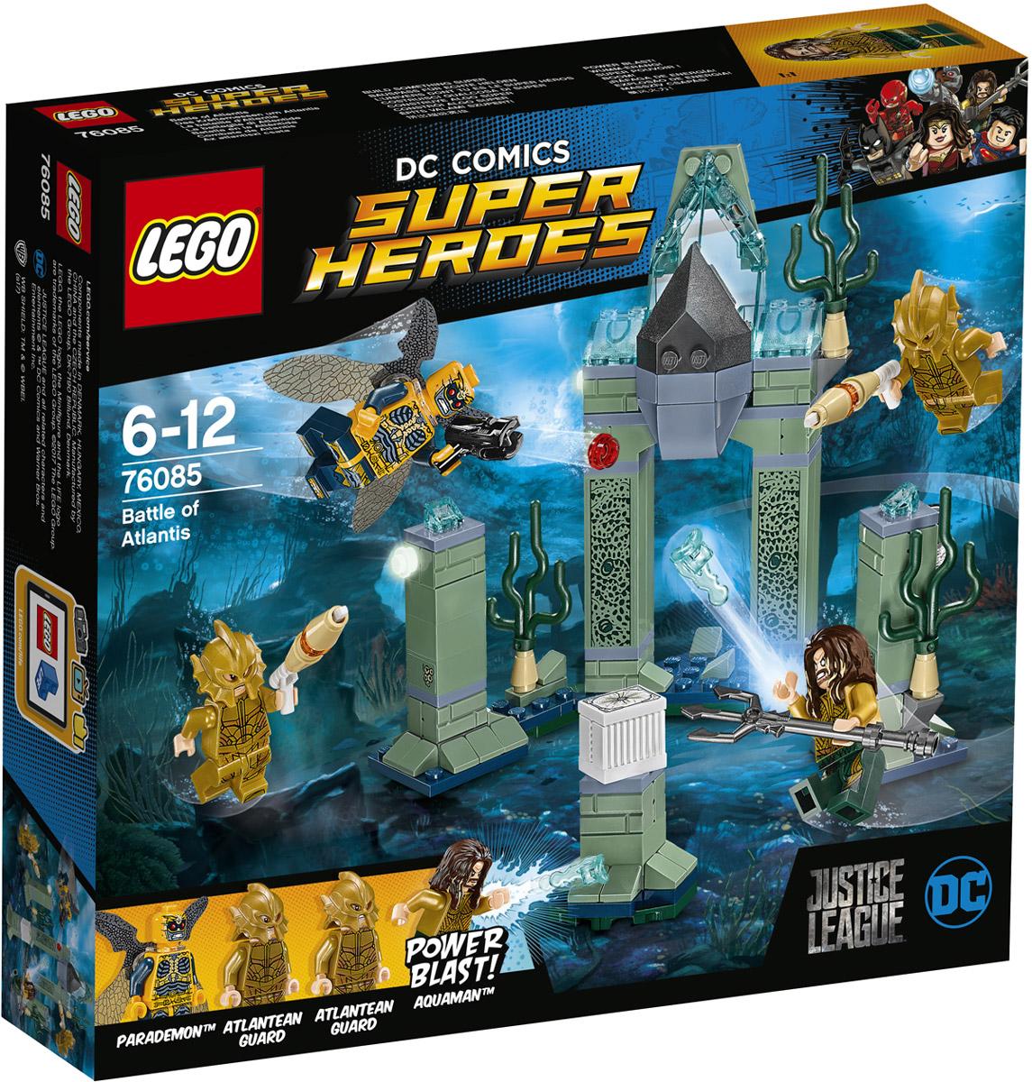 LEGO Super Heroes Конструктор Битва за Атлантиду 76085 конструктор lego super heroes битва за атлантиду 76085 l