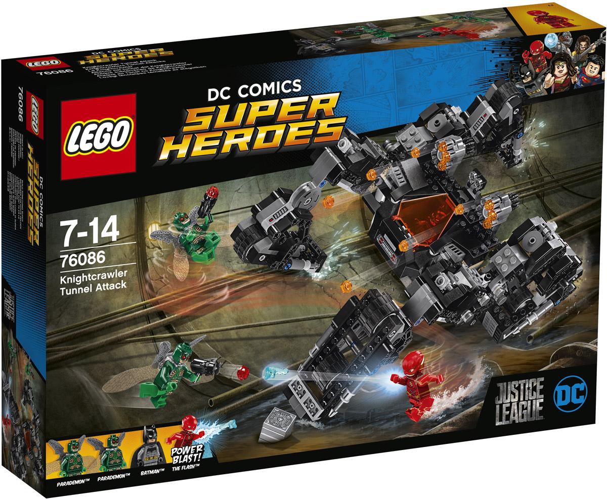 LEGO Super Heroes Конструктор Сражение в туннеле 76086 конструктор lego super heroes 76055 бэтмен убийца крок