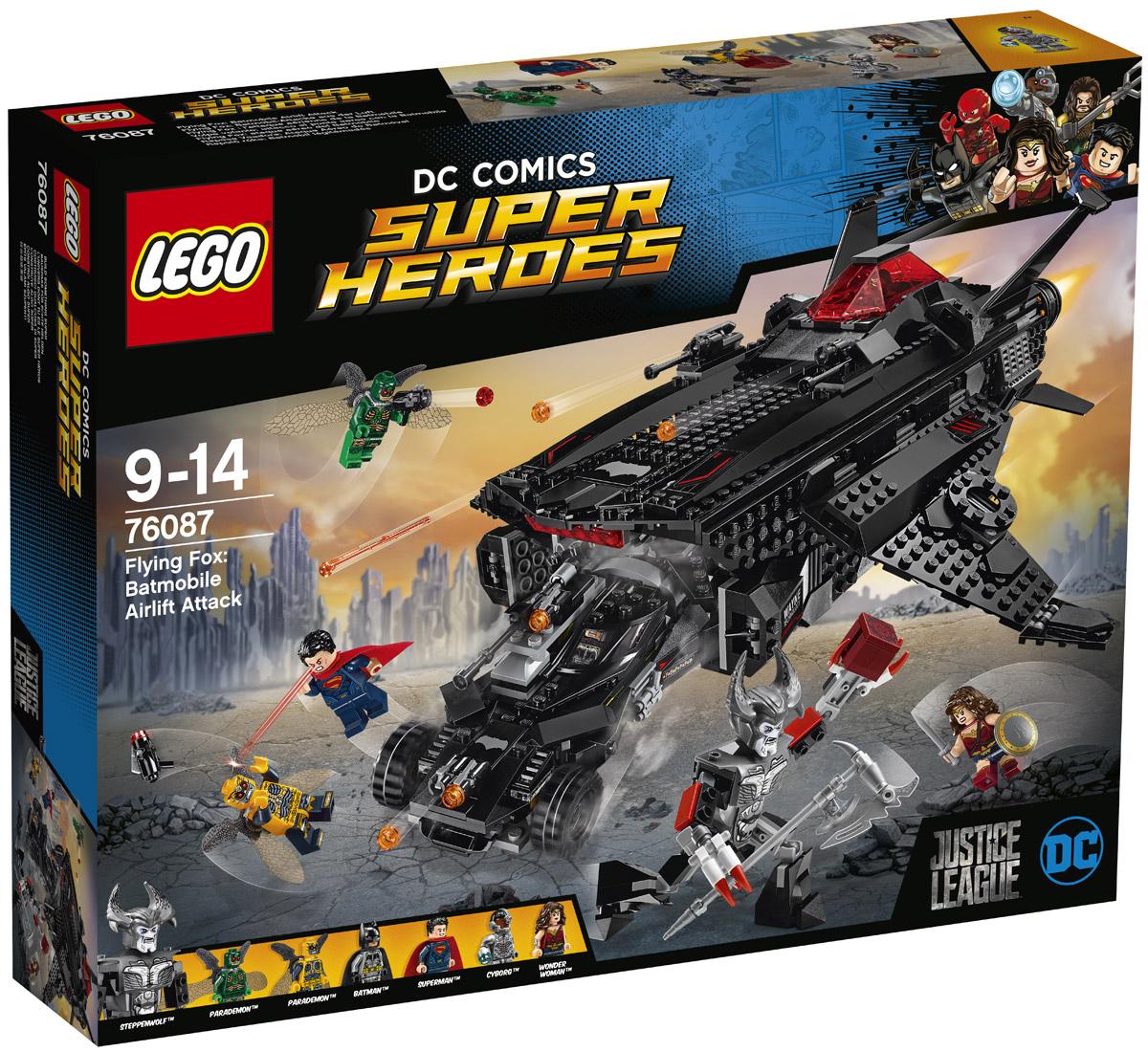 LEGO Super Heroes Конструктор Нападение с воздуха 76087 конструктор lego super heroes нападение с воздуха 76087 l